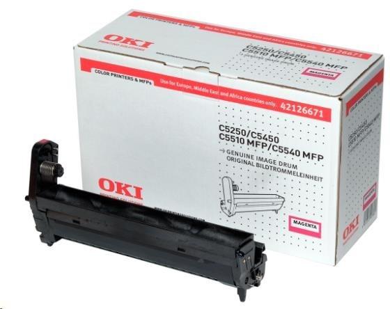 Oki Obraz. válec pro magenta toner do C5250/C5450/C5510/C5540 (17k)