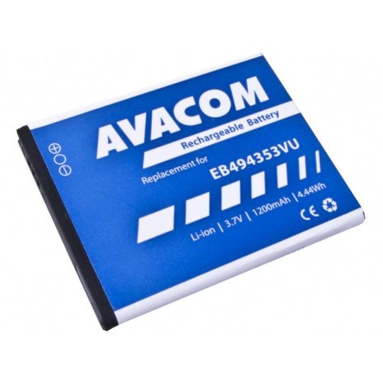 AVACOM baterie do mobilu Samsung 5570 Galaxy mini Li-Ion 3,7V 1200mAh (náhrada EB494353VU)
