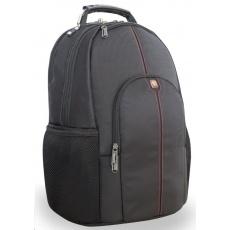 """VERBATIM Taška Batoh Notebook Backpack """"Stockholm"""" 16"""" Black"""