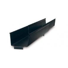 APC Side Channel Cable Trough - Black