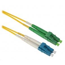 Duplexní patch kabel SM 9/125, OS2, LC(UPC)-LC(APC), LS0H,  4m