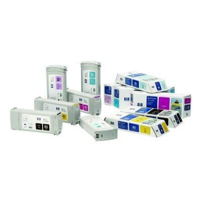 HP 83 Magenta UV DJ Ink Cart, 680 ml, C4942A