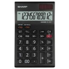 SHARP kalkulačka - EL-124TWH - černá