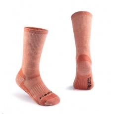 Naturehike ponožky merino vel. 39-43 - oranžová