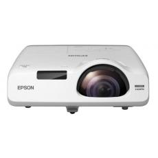 EPSON projektor EB-535W, 1280x800, 3400ANSI, HDMI, VGA,LAN.SHORT,10.000h ECO životnost lampy, REPRO 16W, 5 LET ZÁRUKA