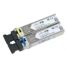 MikroTik SFP (miniGBIC) modul S-35/53LC20D, SM, 20km, 1.25G