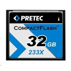 PRETEC CompactFlash Cheetah 233X card 32GB
