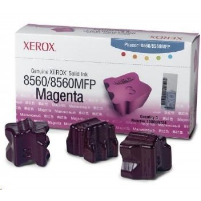 Xerox Genuine Solid Ink pro Phaser 8560 Magenta (3 STICKS)