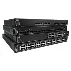 Cisco switch SG550X-48, 48x10/100/1000, 2x10GbE SFP+/RJ-45, 2xSFP+