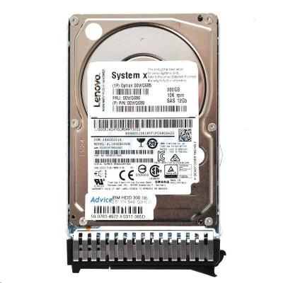 300GB 10K 12Gbps SAS 2.5in G3HS HDD   x3250M6, x3550M5, x3650M5, x3850X6, x3950X6