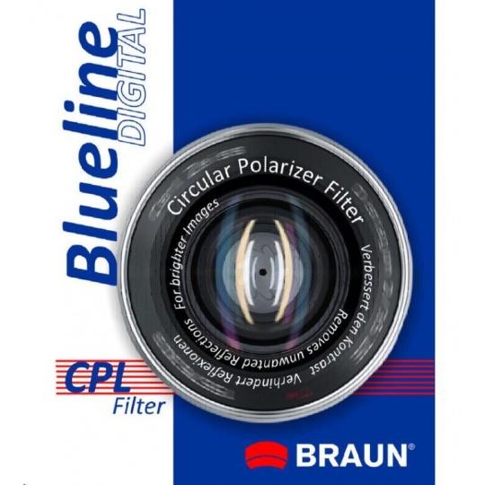 Braun filtr C-PL BlueLine 43 mm