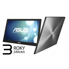 ASUS LCD 15.6 MB168B 1366x768, 200cd, 11ms, napájení USB 3.0, ASUS SMART CASE