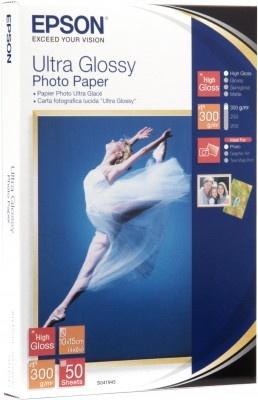 EPSON Paper Ultra Glossy Photo 10x15 (50 listů), 300g/m2