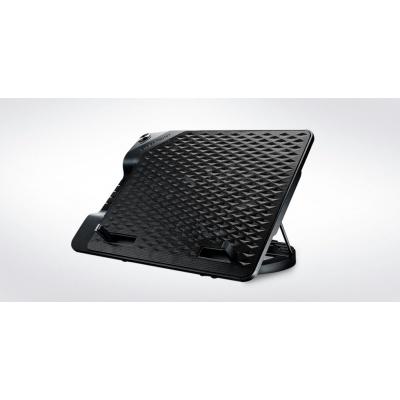 "chladicí podstavec Cooler Master NotePal ErgoStand III pro NTB do 17"", USB hub, black, 23cm fan"