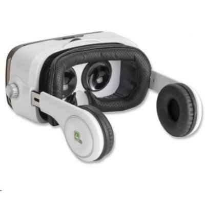 4smarts 3D brýle Spectator Sound. bílá