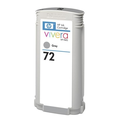 HP 72 Grey DJ Ink Cart, 130 ml, C9374A