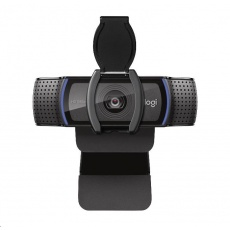 Logitech HD Webcam C920S, kamera vč. krytky