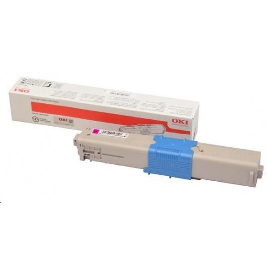 OKI Magenta toner do C332 a MC363 (3 000 stránek)