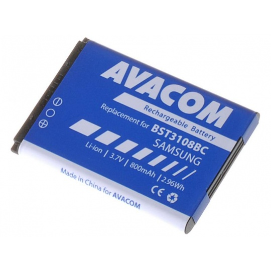 AVACOM baterie do mobilu Samsung X200, E250 Li-Ion 3,7V 800mAh (náhrada AB463446BU)
