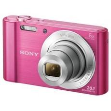 SONY DSCW810P Cyber-Shot 20.1MPix, 6x zoom - růžový