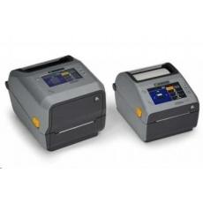Zebra ZD621R, 12 dots/mm (300 dpi), disp., RTC, RFID, USB, USB Host, RS232, BT, Ethernet, Wi-Fi, grey