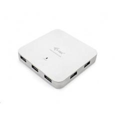 iTec USB-C Metal Charging HUB 7x USB 3.0 + Power Delivery 60W