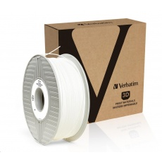 VERBATIM 3D Printer Filament PRIMALLOY 1.75mm, 191m, 500g white