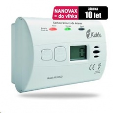 Kidde 10LLDCO Detektor CO, odolný proti vlhkosti