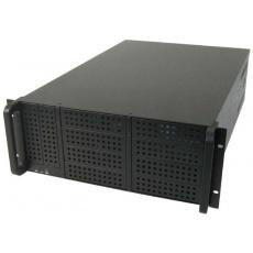 CHIEFTEC skříň Rackmount 4U ATX/EATX, UNC-410F-B-80R, 2x800W RT, Black