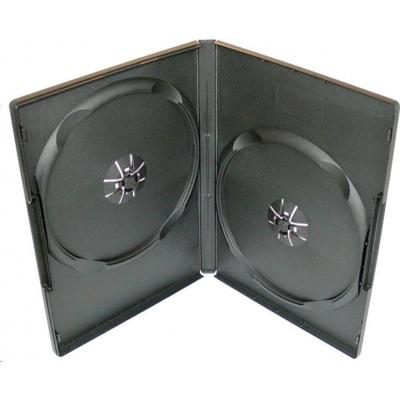 OEM Krabička na 2 DVD 14mm černá (balení 100ks)