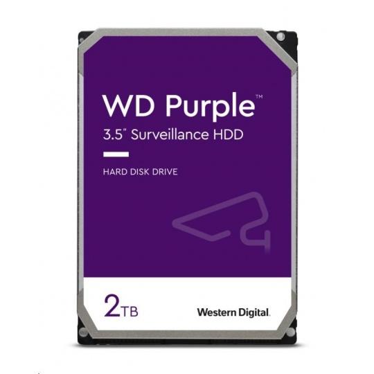 WD PURPLE WD20PURZ 2TB SATA/600 64MB cache, Low Noise, CMR