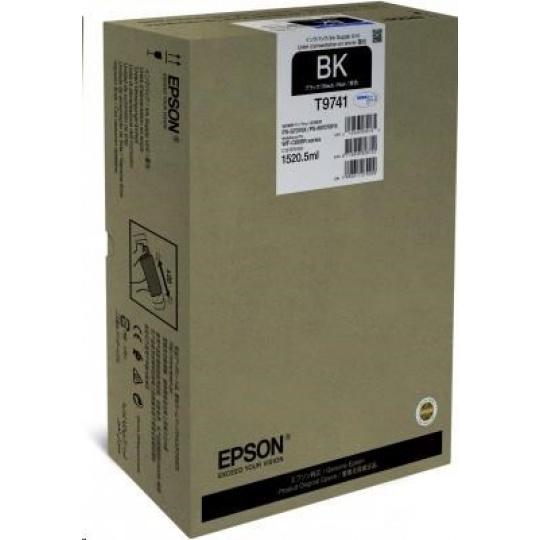 EPSON Ink čer WorkForce Pro WF-C869R Black XXL Ink Supply Unit 1.520,5 ml