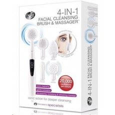 RIO 4 IN 1 FACIAL CLEANSING BRUSH & MASSAGER Čistící kartáček na pleť