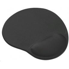 TRUST Podložka pod myš Bigfoot Gel Mouse Pad, černá, gelová