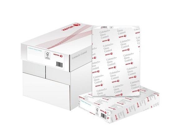 Xerox Papír Colotech+ GLOSS 250 A3 (250g/250 listů, A3) - oboustranně natíraný