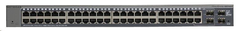 Netgear GS748T ProSafe 48-port Gigabit Smart Switch, 4x SFP slot