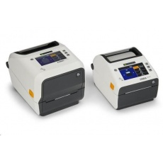 Zebra ZD621t Healthcare, 12 dots/mm (300 dpi), disp., RTC, USB, USB Host, RS232, BT, Ethernet, Wi-Fi, white