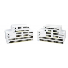 Cisco switch CBS350-24P-4X, 24xGbE RJ45, 4x10GbE SFP+, PoE+, 195W
