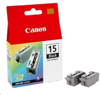 Canon BJ CARTRIDGE black BCI-15BK (2pcs) twin (BCI15BK)