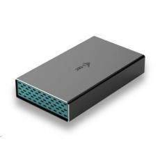 "iTec MySafe USB-C 3.5"" SATA HDD Metal External case 10Gb"