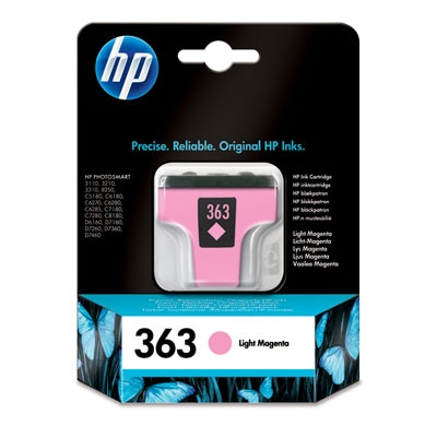 HP 363 Light Magenta Ink Cart, 5,5 ml, C8775EE