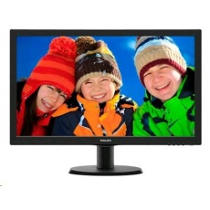 "Philips MT LED 21,5""  223V5LSB2- 1920x1080, 200cd/m, 5ms, 10mil:1, D-Sub,"