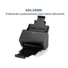 BROTHER skener ADS-2400N DUALSKEN (až 30 str/min, 600 x 600 dpi, 256MB) 1000 LAN duplex