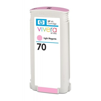 HP 70 Light Magenta DJ Ink Cart, 130 ml, C9455A