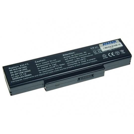 AVACOM baterie pro Asus F2 series, F3U/F3P/F3SR  Li-Ion 11,1V 5200mAh