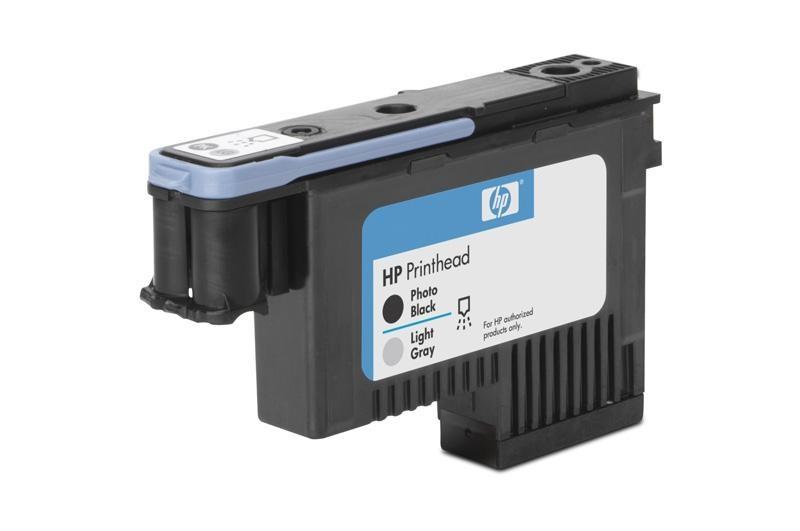 HP 91 Black photografic + Light Grey DJ Printhead, C9463A