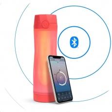 HidrateSpark V3 Spark - chytrá lahev, 592 ml, oranžová
