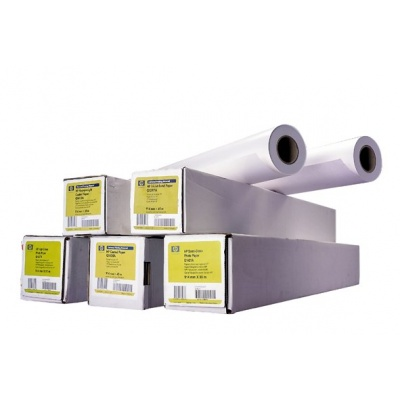 HP Coated Paper-841 mm x 45.7 m (33.11 in x 150 ft), 4.5 mil, 90 g/m2, Q1441A