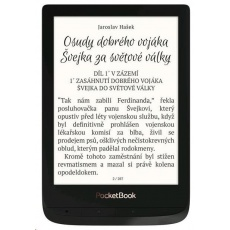 POCKETBOOK 627 Touch Lux 4, Obsidian Black